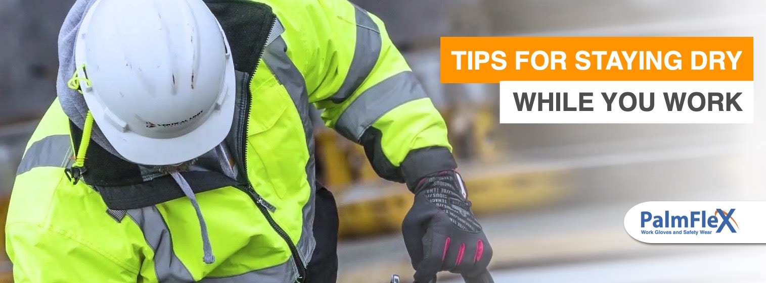 Working in the Rain | 4 Tips for Staying Dry at Work