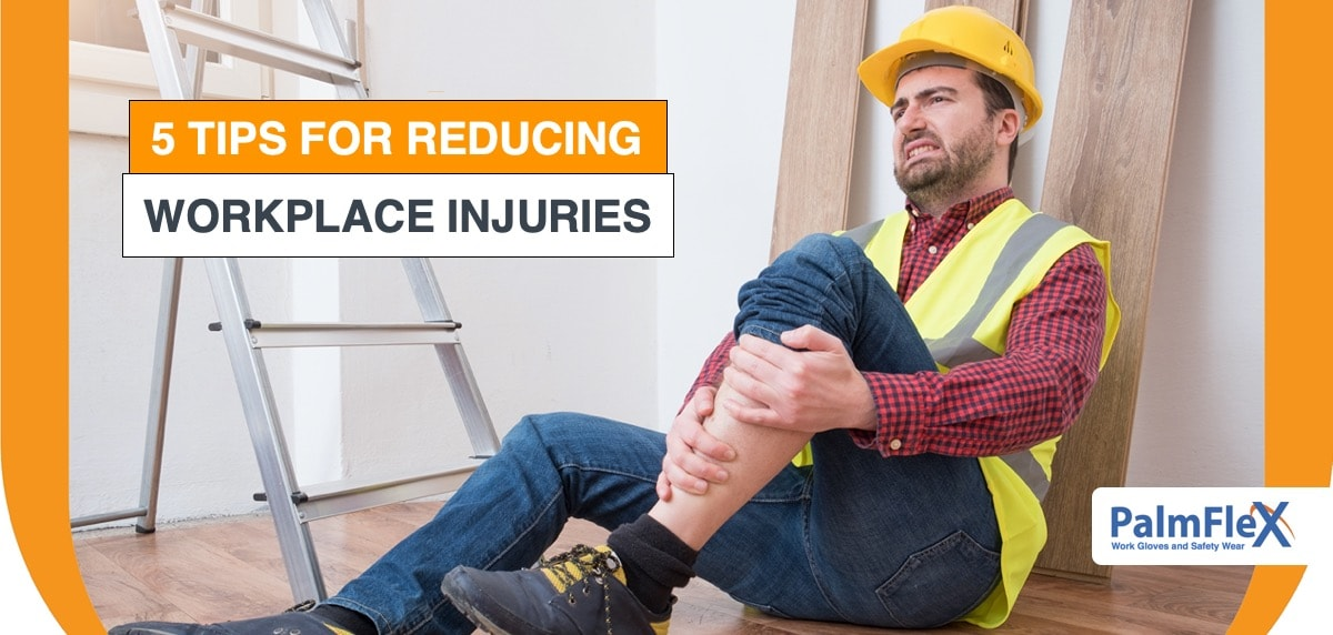 construction worker experiencing workplace injuries