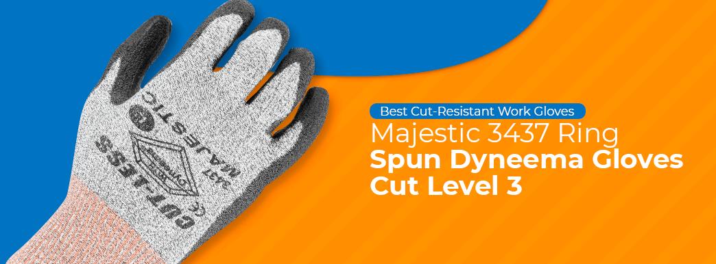 Majestic 3437 Ring Spun Dyneema Gloves