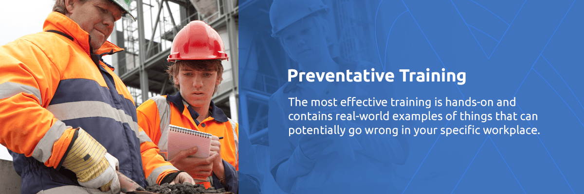 Preventative Safety Training - Workplace Safety and Health