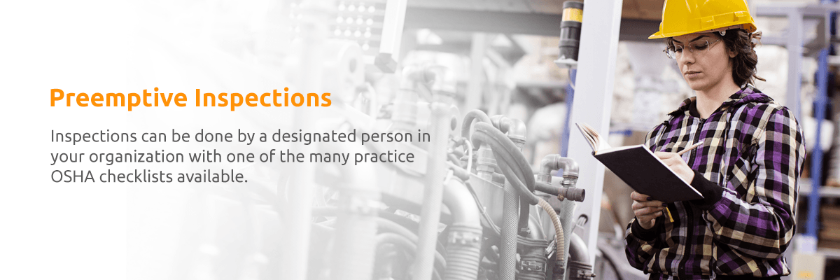 Preemptive Safety Inspections - Workplace Safety and Health