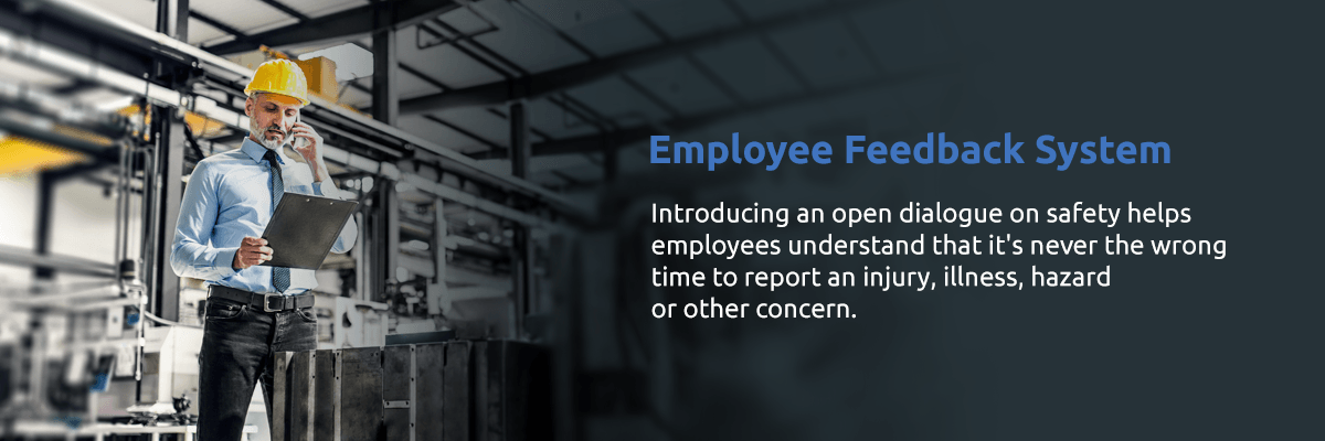 Employee Feedback System for Reporting Safety Hazards and Concerns