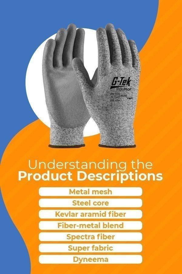 Cut Resistant Glove Materials