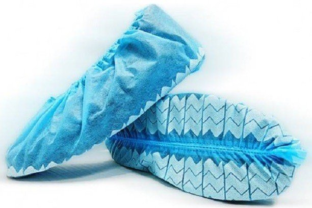 be90ea5dfab97b BlueMed Wave Non Slip Shoe Covers - Made in North America. Hover to zoom