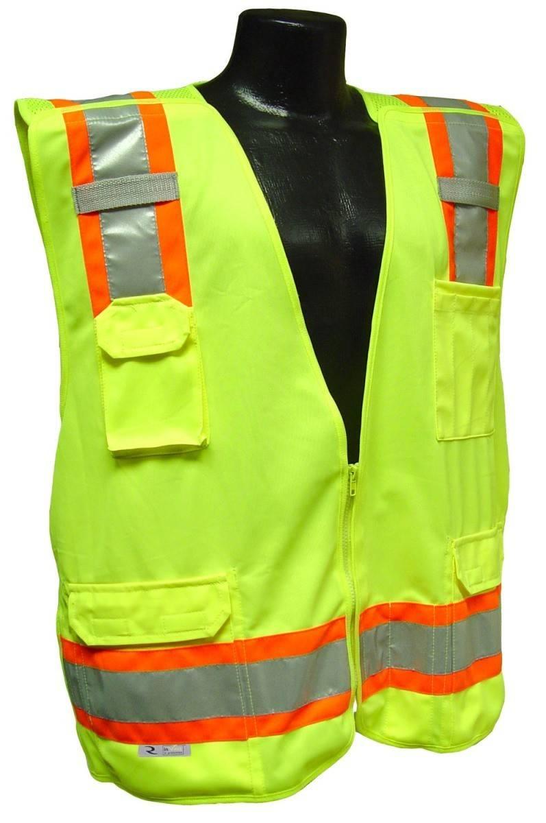 6bf207cc3324 Workwear  Radians SV46 Surveyor Class 2 Breakaway Safety Vest