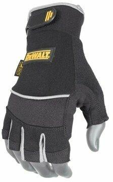 DeWalt DPG230 Technicians Fingerless Synthetic Leather Gloves