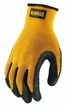 DeWalt DPG70 Textured Rubber Coated Gripper Gloves