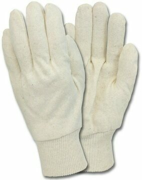 Safety Zone Natural White Jersey Gloves