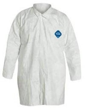 Dupont Tyvek TY303S White Shirt with Collar and Open Wrists - No Pockets