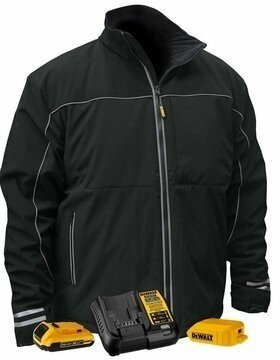 DeWalt DCHJ072D1 Lightweight Battery Heated Soft Shell Work Jacket