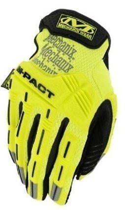 Mechanix Safety Hi Vis M-Pact Gloves