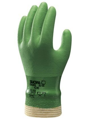 Showa Atlas 600 Vinylove Chemical Resistant Gloves