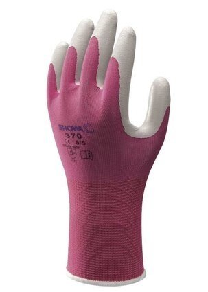 Showa Atlas 370 Garden Gloves in Solid Colors - On Hang Tags
