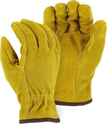 Majestic 1508F Fleece Lined Split Cowhide Drivers Gloves