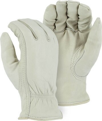 Majestic 1511 Winter Lined Cowhide Drivers Gloves
