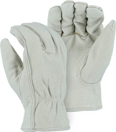 Majestic 1511P Fleece Lined Pigskin Drivers Gloves