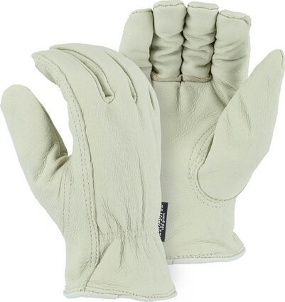 Majestic 1511PT Thinsulate Lined Pigskin Drivers Gloves