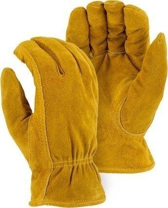 Majestic 1513 Winter Lined Split Cowhide Drivers Gloves