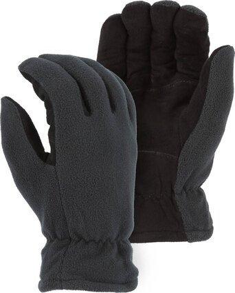 Majestic 1665 Winter Deerskin Drivers Gloves With Fleece Back