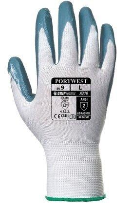 Portwest A310 Flexo Grip Nitrile Gloves
