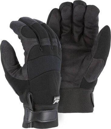 Majestic 2137BKH Winter Lined Armor Skin Gloves