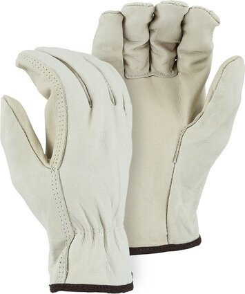 Majestic 2505B Cowhide Drivers Gloves