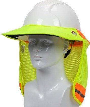 PIP 396-801FR EZ-Cool FR Treated Hi-Vis Hard Hat Visor and Neck Shade