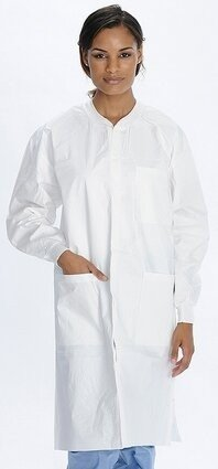Valumax Liquidguard 3960 Fluid Resistant Lab Coats With Pockets - Compare to Tyvek