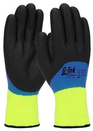 PIP G-Tek Polykor 41-1415 Hi Vis Seamless Knit Gloves