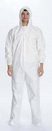 ValuMax 4903 Total LiquidGuard Coveralls - Hood, SafeGrip Boot Covers & Elastic Cuffs - Compare To Tyvek!
