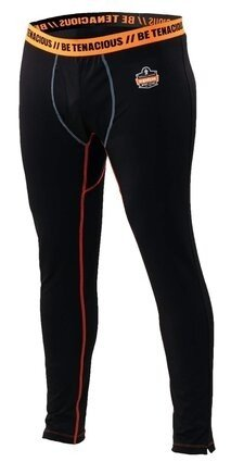 Ergodyne N-Ferno 6480 Men's Black Thermal Bottoms