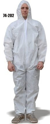 Majestic 74-202 AeroTEX SMS Coveralls with Hood