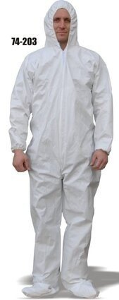 Majestic 74-203 AeroTEX SMS Coveralls with Hood and Boots