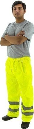 Majestic 75-2351/2352 Hi Vis Waterproof Rain Pants