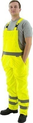 Majestic 75-2353/2354 Hi-Vis Waterproof Bib Overalls