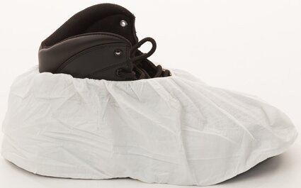 Enviroguard 8101 MicroGuard Microporous Shoe Covers - 12 Mil, Size Large - Compare to Tyvek
