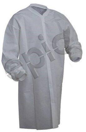 Tian's 843885NP Polypropylene Cleanroom Lab Coats - No Pockets
