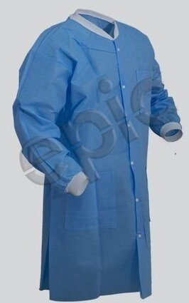 Tian's 864795 SMS Cleanroom Lab Coats with Pockets