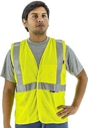 Majestic 95896 BlazeTEX FR High Visibility Deluxe Mesh Safety Vest