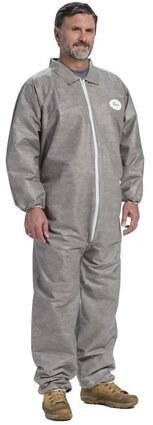 West Chester Dust Defender  C3902  Gray Coveralls with Elastic Cuffs