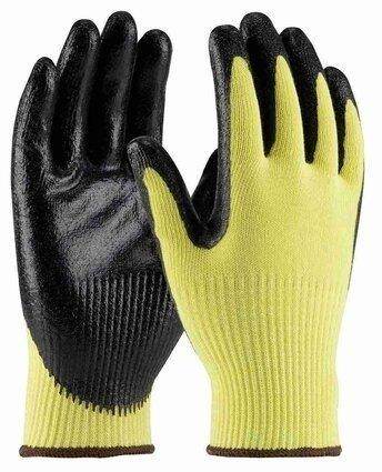 PIP G-Tek 09-K1400 Seamless Knit Kevlar/Nitrile Coated Cut Level 3 Gloves