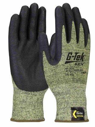 PIP G-Tek 09-K1600 Seamless Knit Kevlar/Nitrile Coated Cut Level 5 TouchScreen Gloves