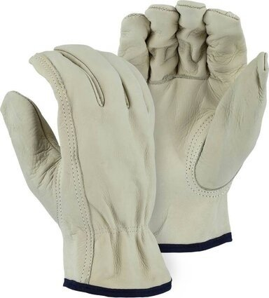 Majestic 1510B Cowhide Drivers Gloves