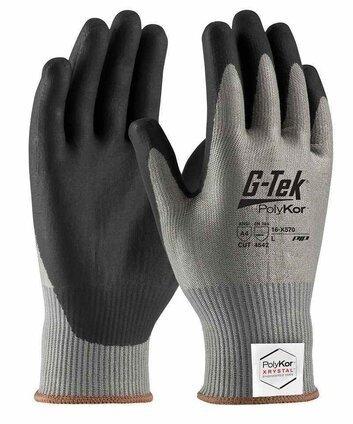 PIP G-Tek 16-X570 Polykor Xrystal Blended Neofoam Coated Cut Level 5 Touchscreen Gloves