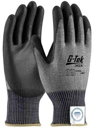PIP G-Tek 3GX 19-D326 13 Gauge Dyneema Diamond Blended Polyurethane Coated Cut Level 3 Gloves
