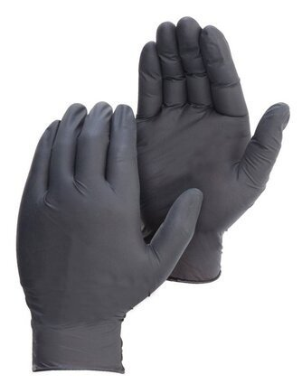 Duraskin BlackShield 2016BK 6 Mil Black Nitrile Powder Free Gloves