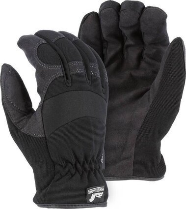 Majestic 2136BKH Armor Skin Heatlok Lined Gloves