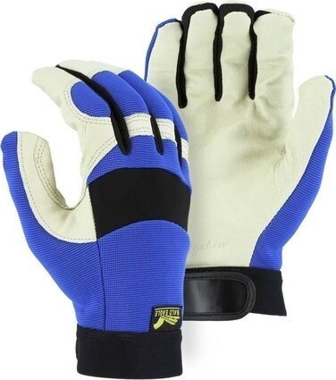 Majestic 2152 Bald Eagle Mechanics Gloves with Pigskin Palm