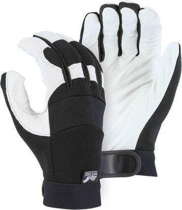 Majestic 2153 White Eagle Goatskin Mechanics Gloves