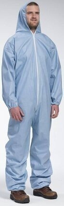 West Chester Posi FR 3106 Coveralls with Hood and Elastic Cuffs